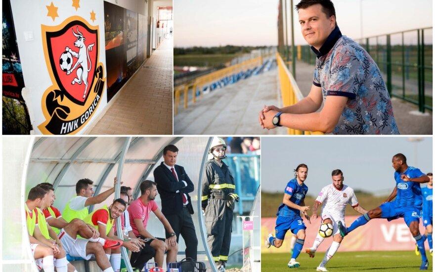 """Mindaugas Nikoličius bando iškelti """"Gorica"""" klubą į Kroatijos futbolo aukštumas"""