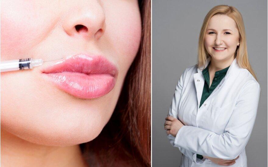 Gydytoja Aistė Audickaitė įspėjo dėl netinkamai atliekamų grožio injekcijų