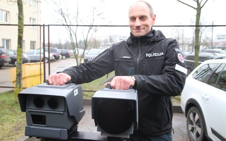 Kauno apskrities Kelių policijos valdybos Kelių patrulių kuopos vadas Ramūnas Kemzūra