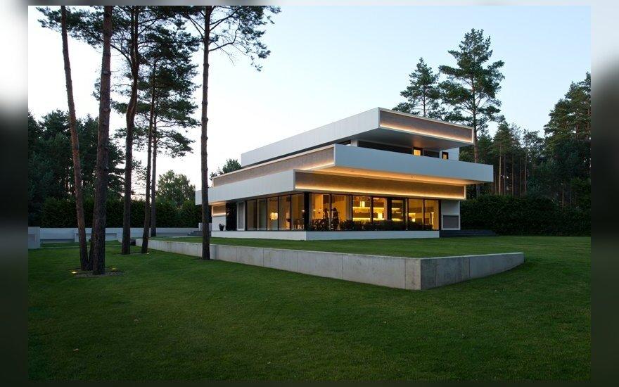 Architekto A. Trimonio suprojektuotas namas