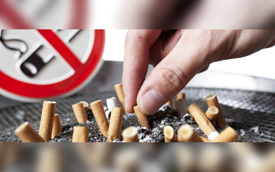Kas nutinka, kai užsirūkote cigaretę?