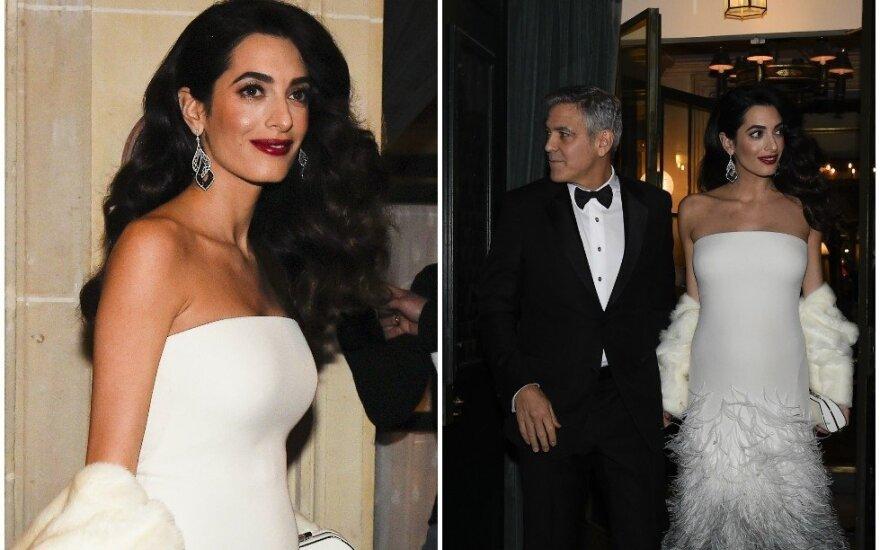 George'as ir Amal Clooney