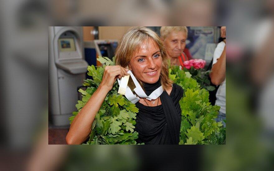 Geriausios liepos mėnesio Europos lengvaatletės rinkimuose Ž.Balčiūnaitė užėmė trečią vietą