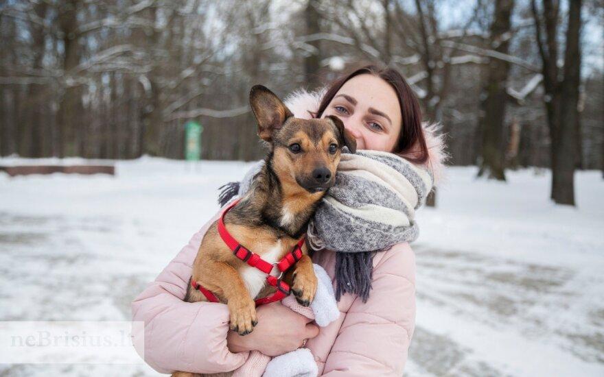 Bembio šeimininkė: dėl šuniuko vardo klausimų nekilo