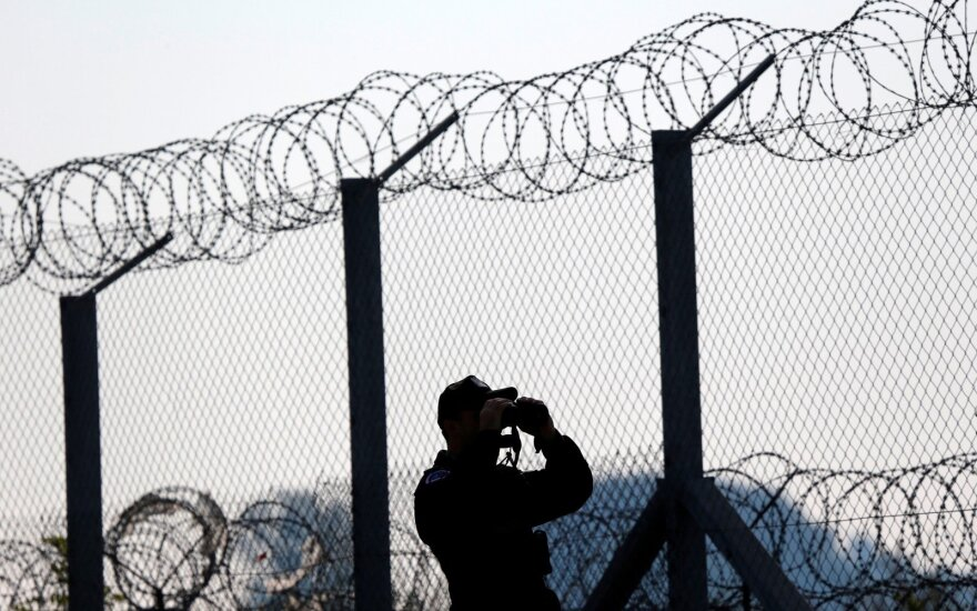 Fence on Lithuania-Kaliningrad border to be completed Wednesday