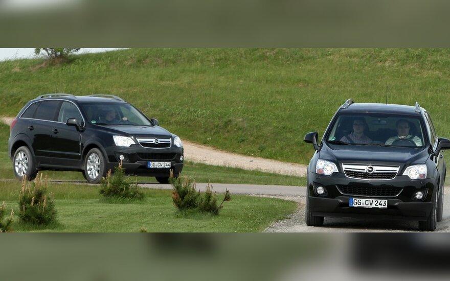 """Atnaujinta """"Opel Antara"""" oficialiai debiutavo Lietuvoje"""