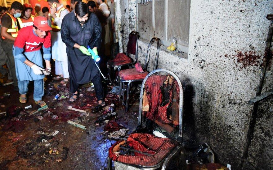 Savižudžio sprogdintojo išpuolis Pakistane