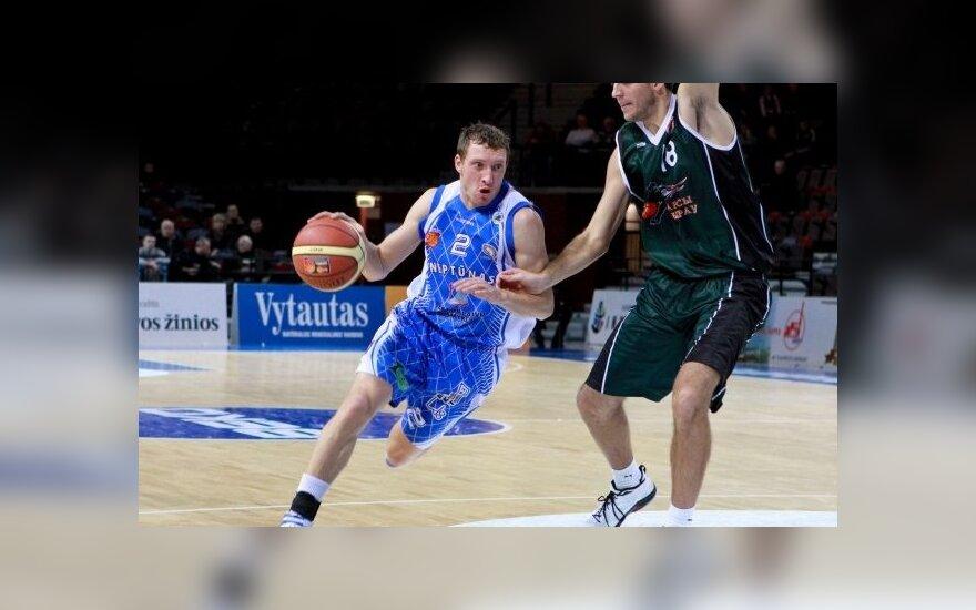 """""""Neptūnas"""" antrąkart nugalėjo Kazahstano čempionus"""