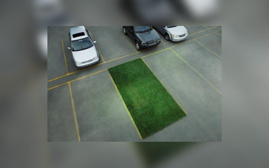 Automobilių statymo aikštelė – bendruomeniškumo veidrodis