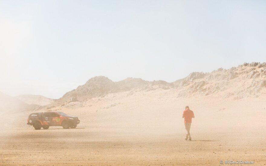 Kitų metų Dakarui ruošiasi nauja komanda: jos lyderiu ketina tapti Nani Roma