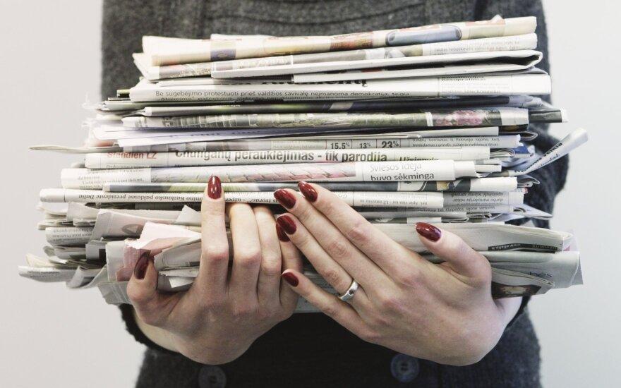 Vyriausybė ketina nepritarti lengvatiniam PVM tarifui periodinių leidinių spausdinimui