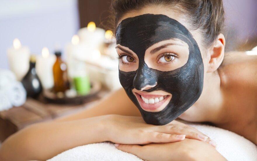 molio kaukė grožis procedūros veido priežiūra