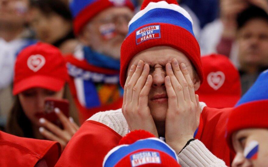 Sukčiaujančių rusų neturėjo būti olimpiadoje