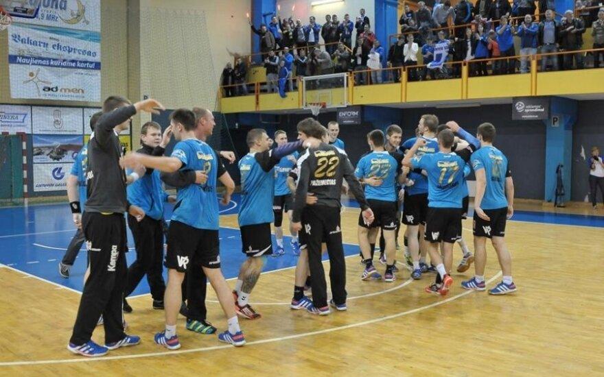 """Klaipėdos """"Dragūnas"""" penktą kartą laimėjo Lietuvos rankinio čempionatą"""