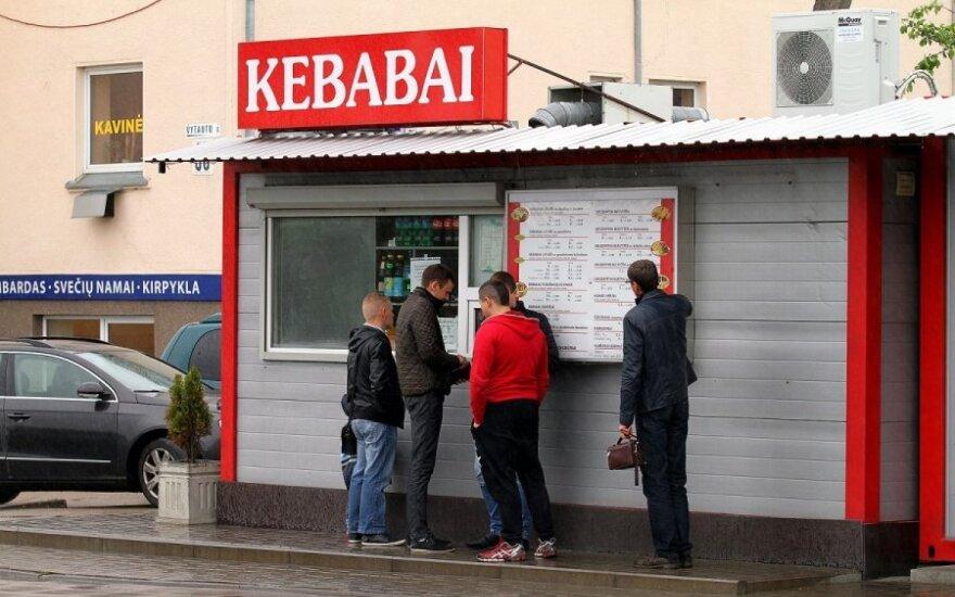 Kebabų kioskas Garliavoje