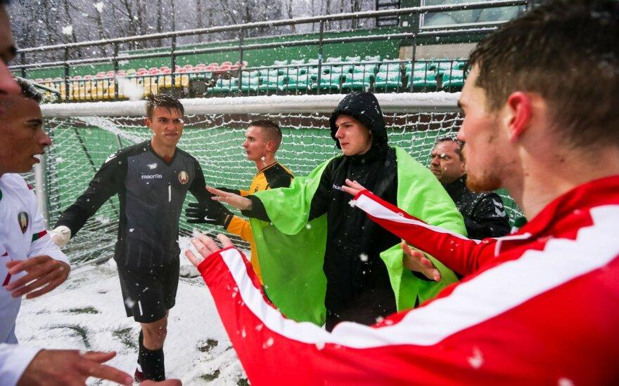 Kontrolinės rinktinių rungtynės: Lietuvos U21 - Baltarusijos U21