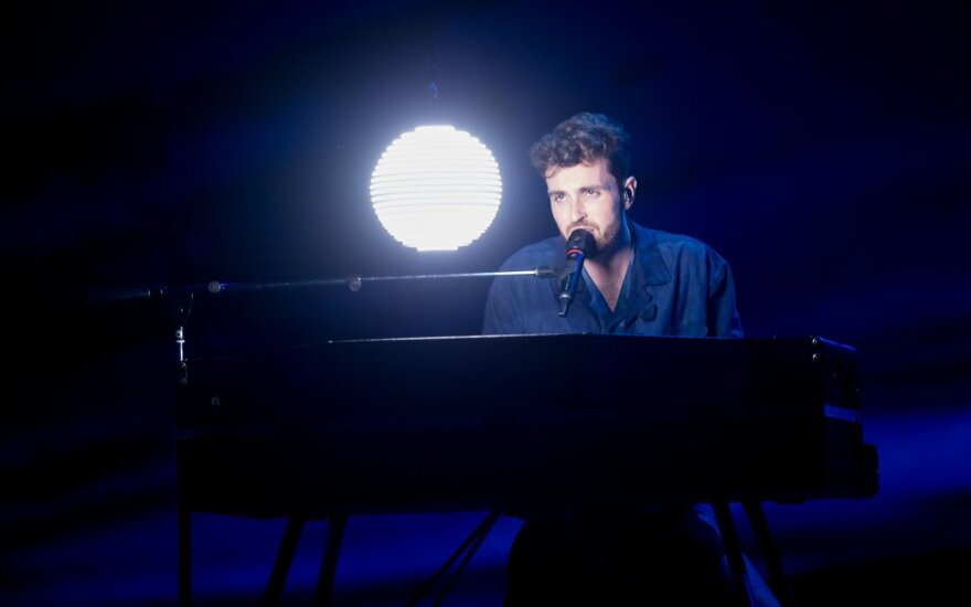Antrasis Eurovizijos pusfinalis: Olandija – Duncanas Laurence