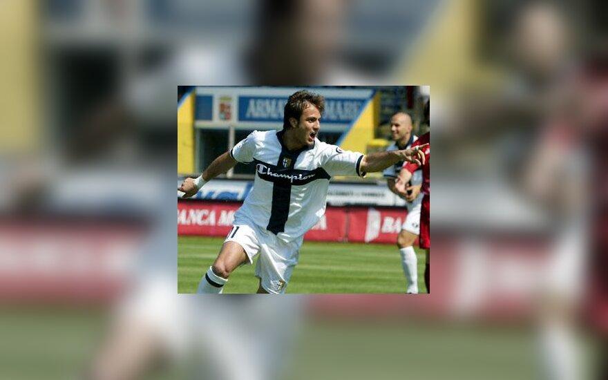 """Alberto Gilardino (""""Parma"""")"""