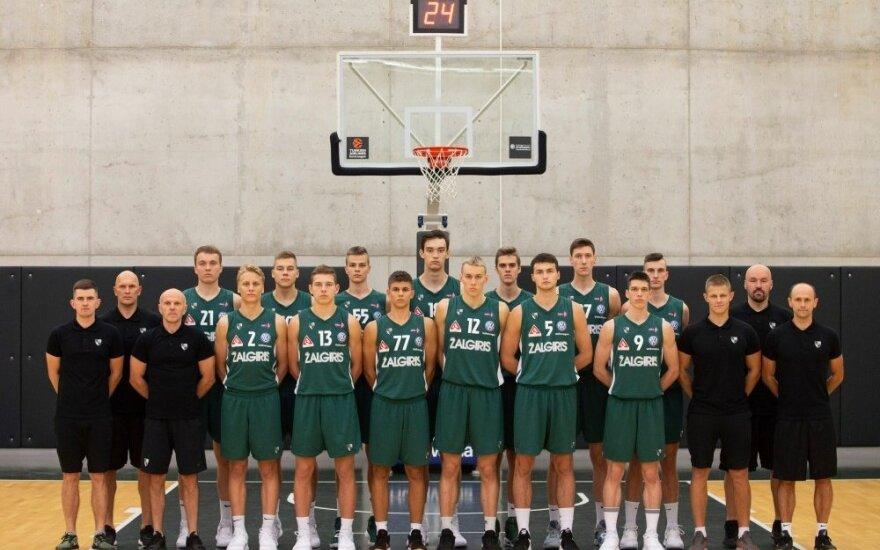 """Kauno """"Žalgiris-2"""" komanda"""