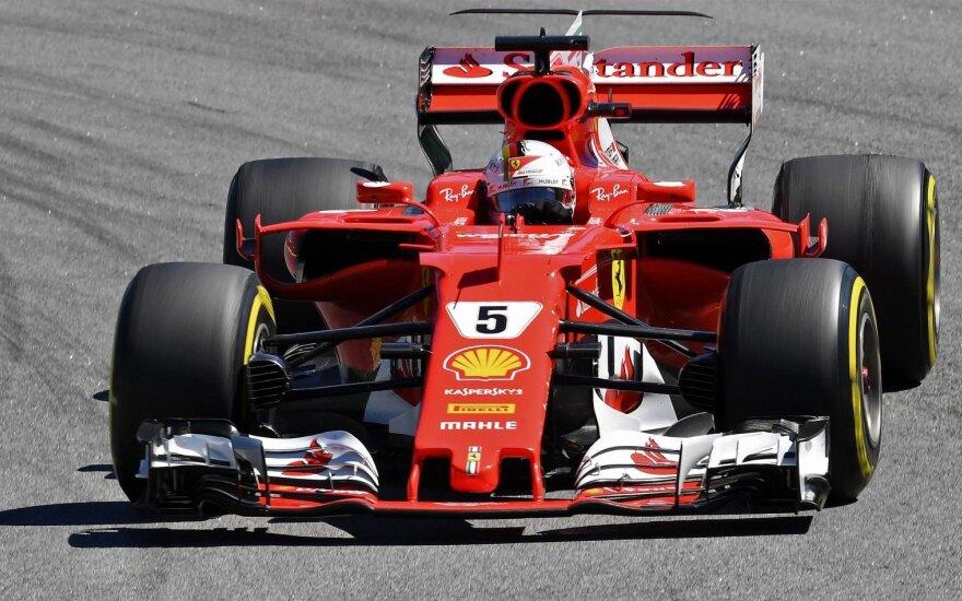 "Schumacherio ""Ferrari"" aukcione parduotas už rekordinius 7,5 mln. dolerių"