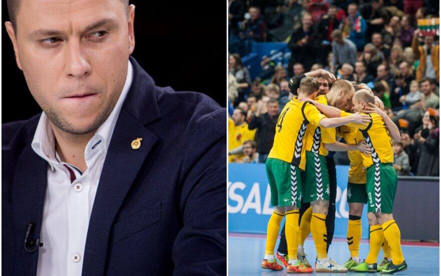 Edgaras Stankevičius, Lietuvos salės futbolo rinktinė