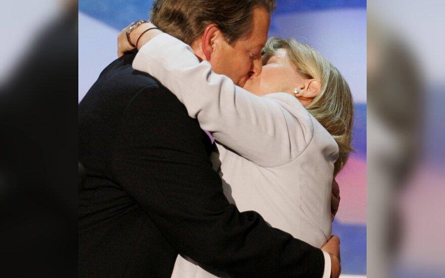 Alas Gore'as ir jo žmona Tipper