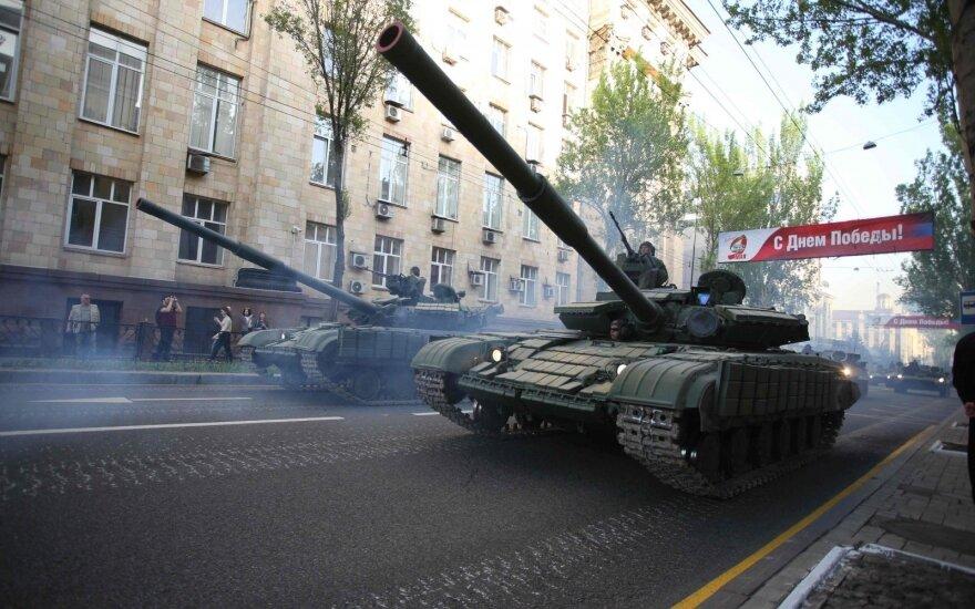 """Separatistai Ukrainoje planuoja kurti naują """"valstybę"""""""