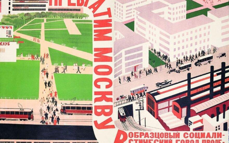NDG - paskaita apie šiandienos atspindžius Rusijos avangardo architektų vizijose