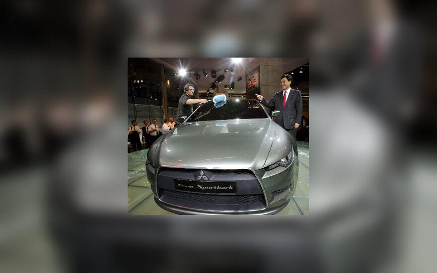 "Koncepcinis ""Mitsubishi Sportback"""