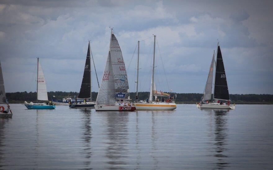 Kuršių marių regata, paskutinis etapas