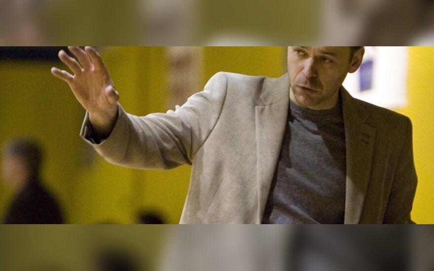 Treneris Egidijus Ženevičius