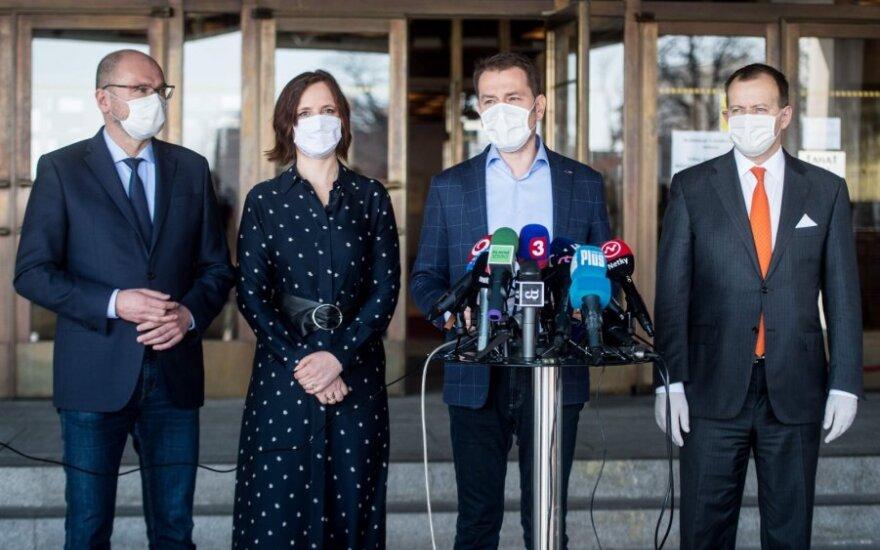 Naujoji Slovakijos vyriausybė žada kovoti su koronavirusu ir korupcija