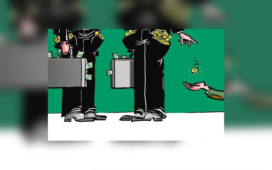 Politikai, pinigai, biudžetas, milijonai, litai