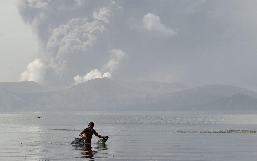 Taalo ugnikalnis Filipinuose