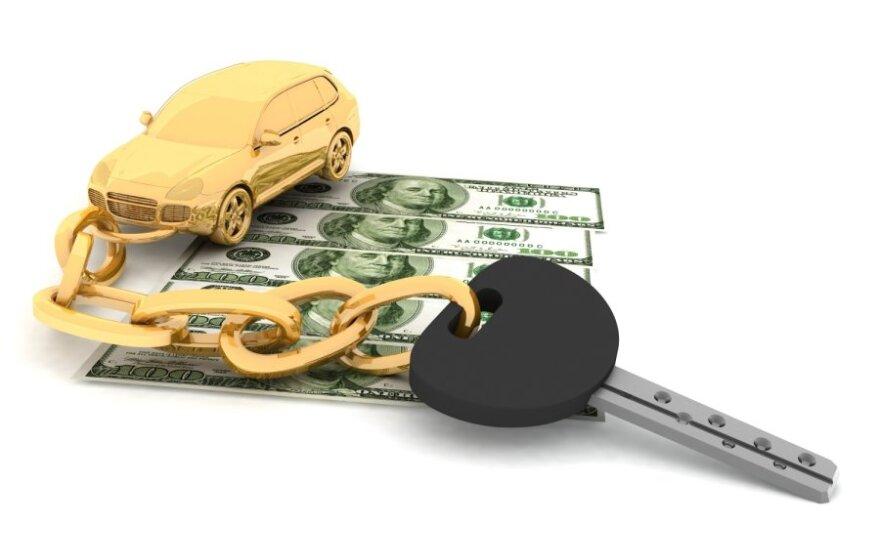 Pinigai, automobilis
