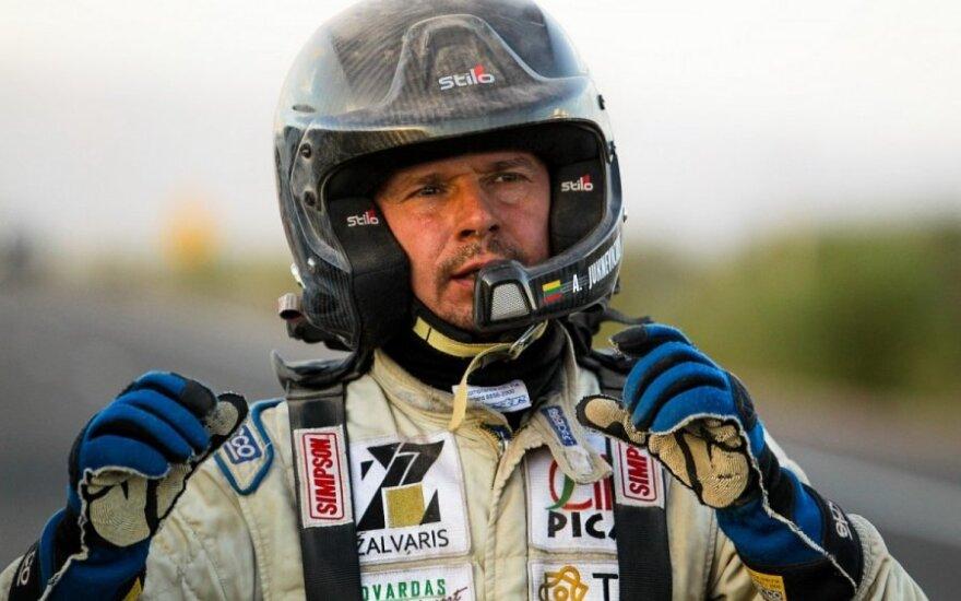"""Antanas Juknevičius (""""Žalvaris-Dakar"""" komandos nuotr.)"""