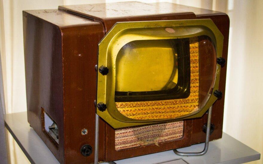 Vienas pirmųjų Sovietų Sąjungoje sukurtų televizorių KVN