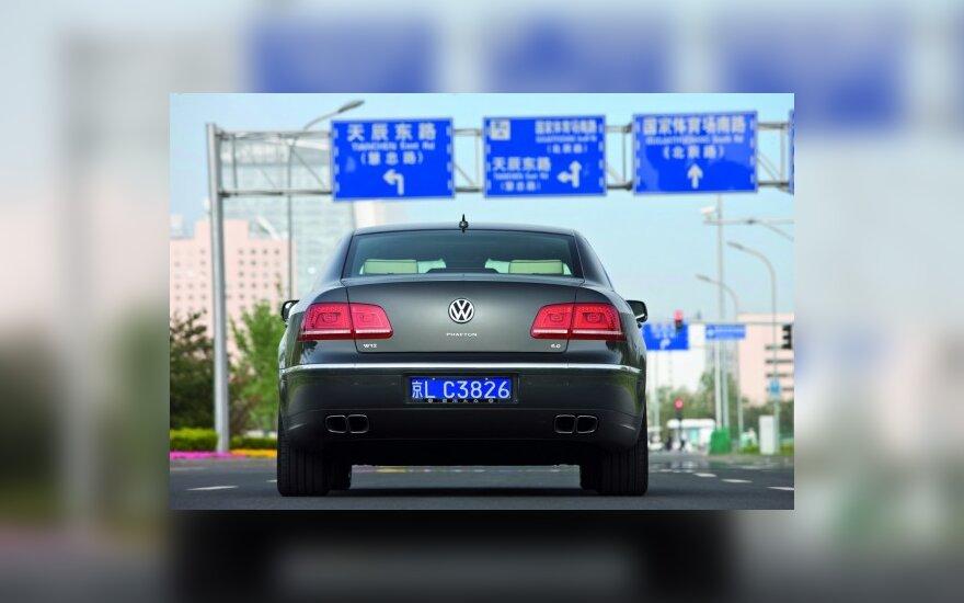 Kinijoje gaminami automobiliai turėtų atpigti 20 proc.