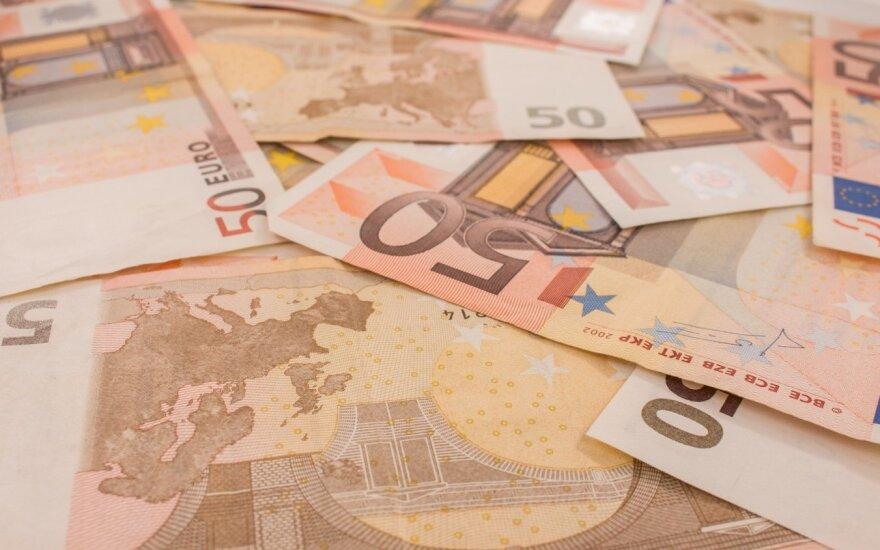 Tyrimas: euro zonos verslo augimas buvo žemiausias nuo 2014 metų