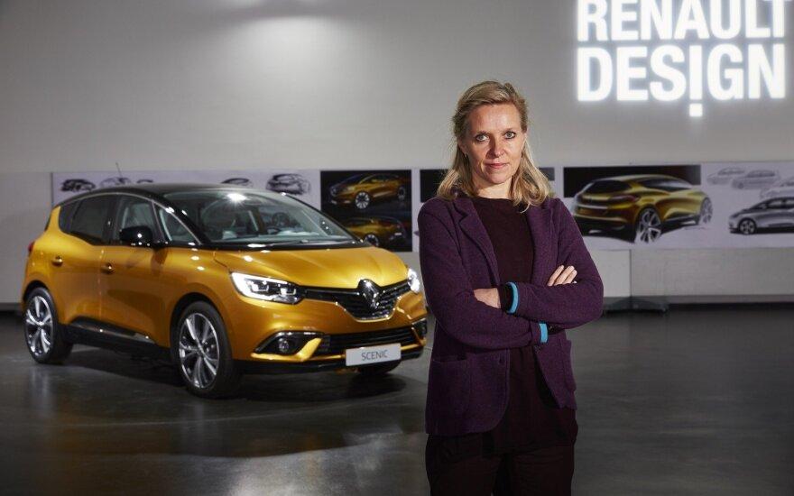 "Kur slypi ""Renault"" dizaino paslaptis?"