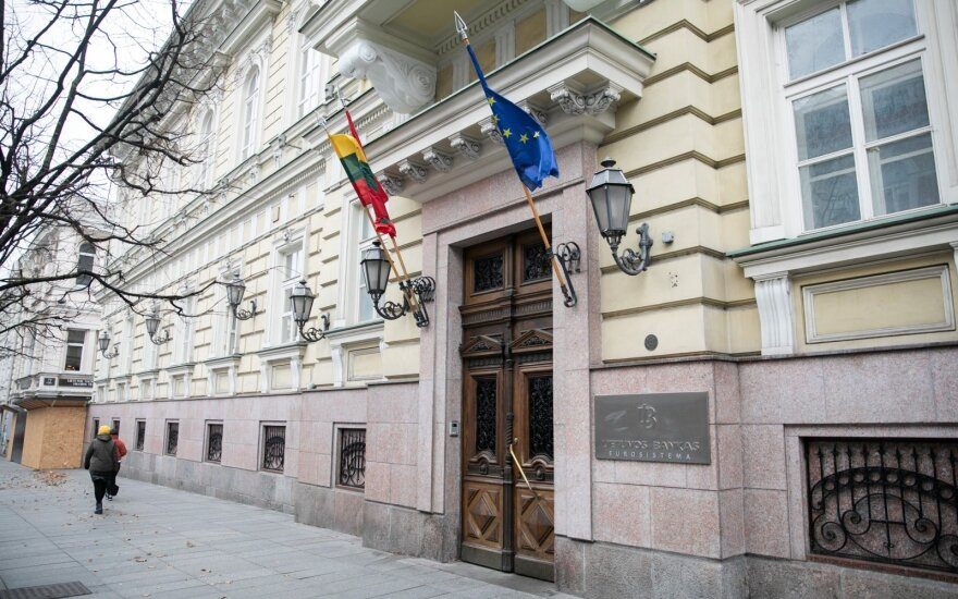 Lithuanian parliament committee head wants prosecutors to look into central bank's actions