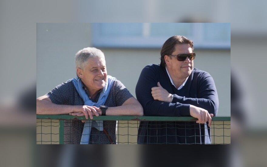 Leonardas Čaikauskas (kairėje) ir Casperas Claassenas