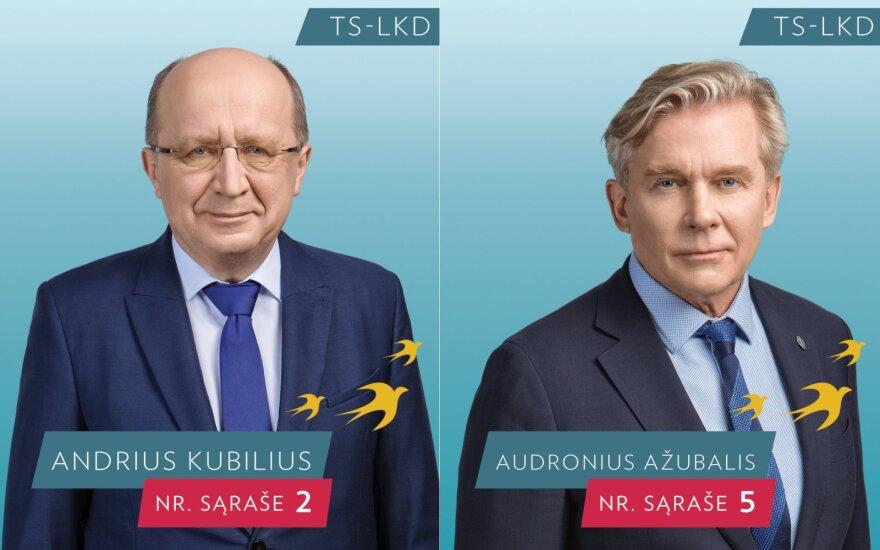 Andrius Kubilius ir Audronius Ažubalis