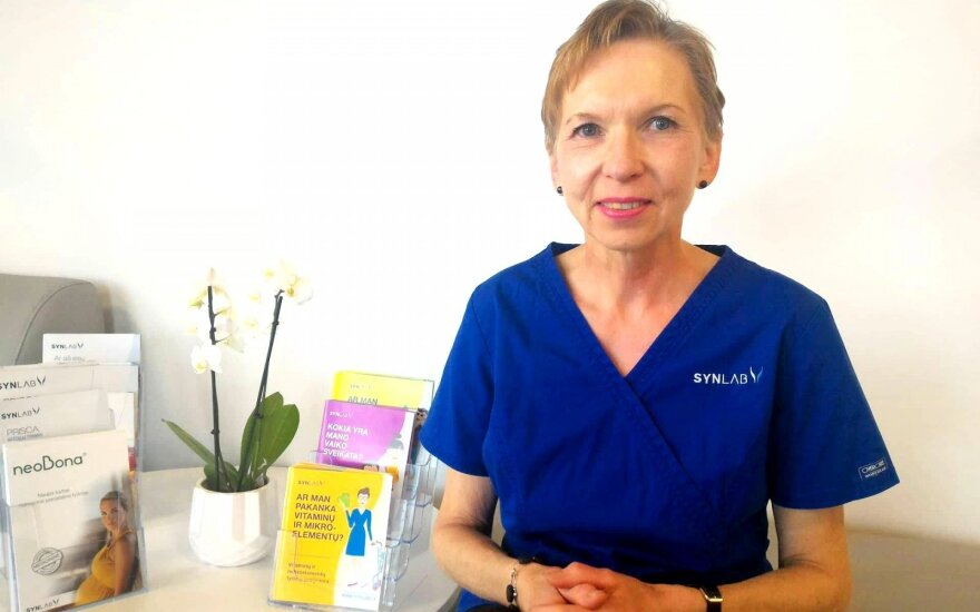 Laboratorinių tyrimų ekspertė Regina Lensbergaitė