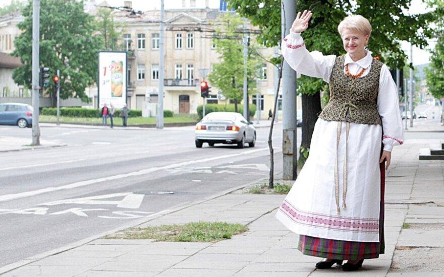 D. Grybauskaitė atmeta A. Sakalo pareiškimus apie KGB