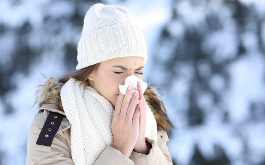 Sergamumas gripu ir kvėpavimo takų infekcijomis Lietuvoje sumažėjo, kai kur – auga