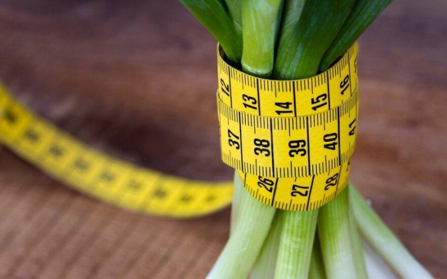 6 svorio mažinimo mitai
