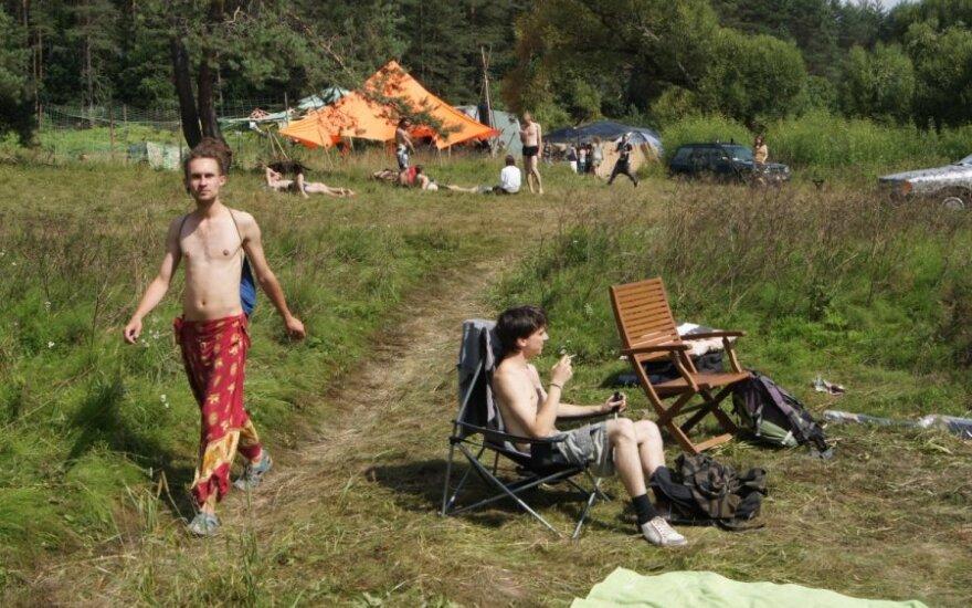 """Ketvirtoji diena """"Yaga Gathering 2013"""": saulėtas sekmadienis gamtoje"""