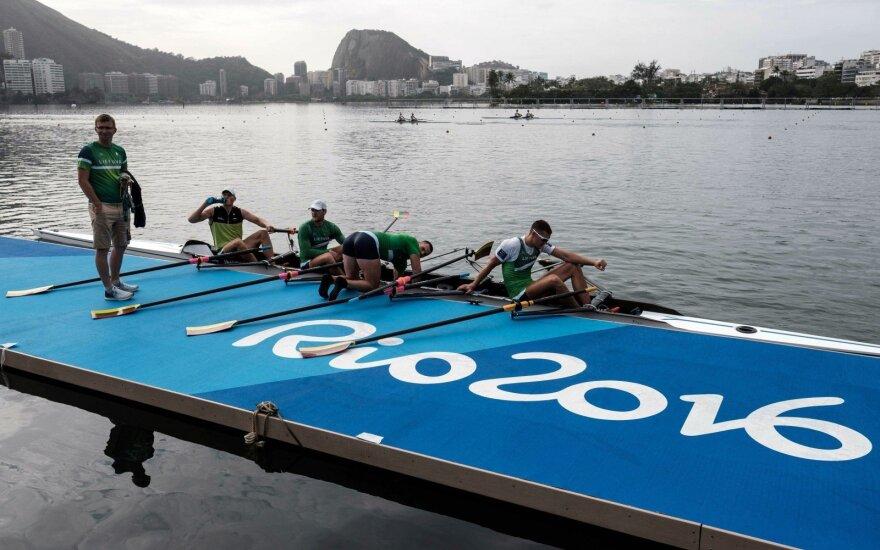 Rio de Žaneire – griežta dopingo kontrolė: tikrino S. Ritterį, M. Griškonį ir D. Rapšį