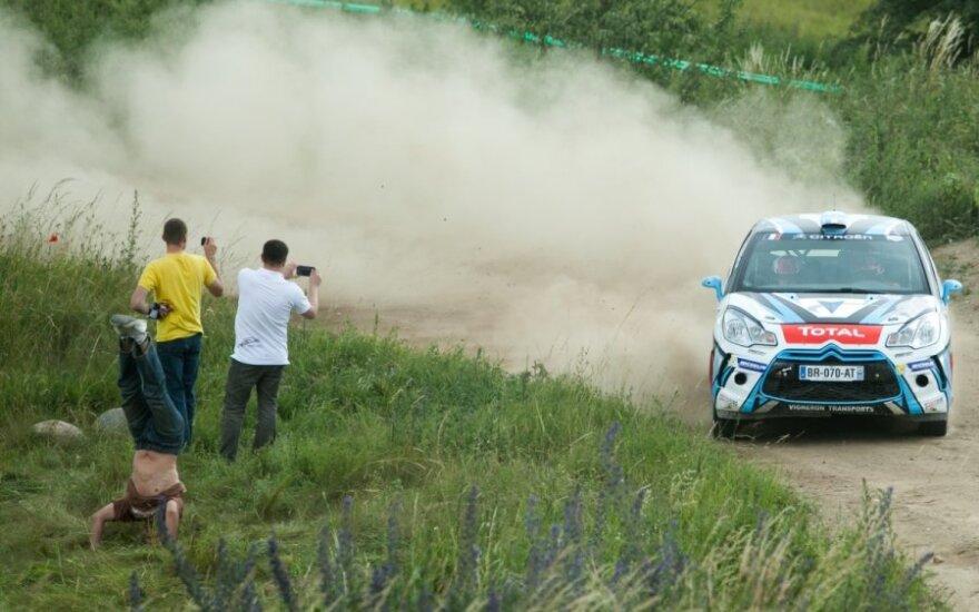WRC trečia diena